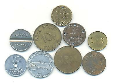 Very Nice Rare.mixed Lot Of Tokens .very Collectable.b.54