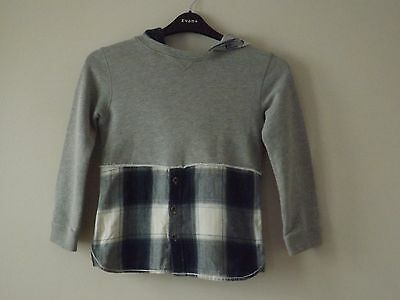 Girls RIVER ISLAND Hoody Jumper - Age 8 Years - Excellent Condition