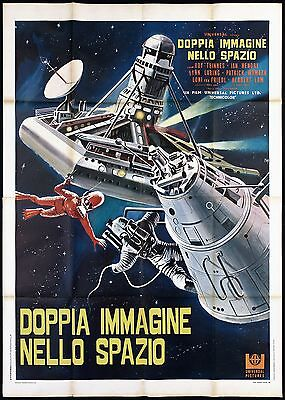Doppia Immagine Nello Spazio Manifesto Film Sci-Fi Far Side Of The Sun Poster 4F
