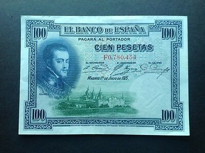 Spain banknote for 100 Pesetas dated 1925.