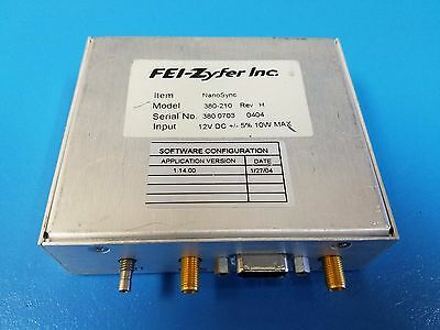 FEI-Zyfer NanoSync II ® Model 380 GPS Time and Frequency Systems