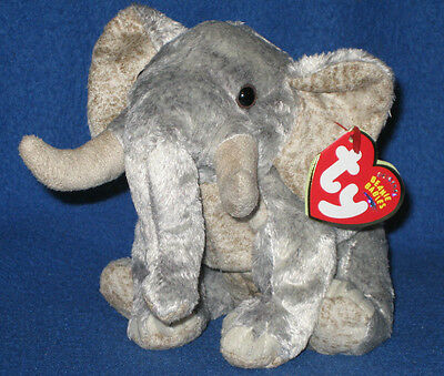 9e57adfdf36 TY BAHATI the ELEPHANT BEANIE BABY - MINT with MINT TAGS - WWF EXCLUSIVE
