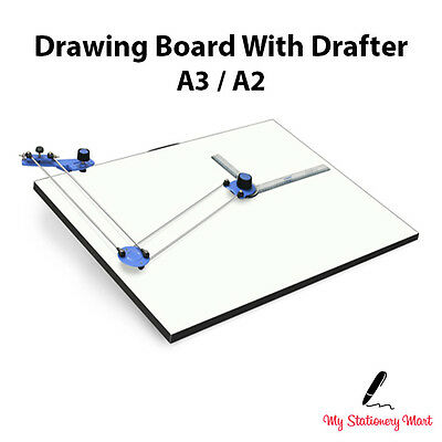 A3 A2 Drawing Board With DRAFTER Tilted Stand Architecture Rapid ISOMARS Scholar