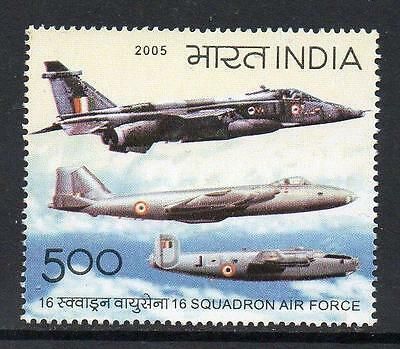 India MNH 2005 The 50 Years of 16 Squadron Air Force
