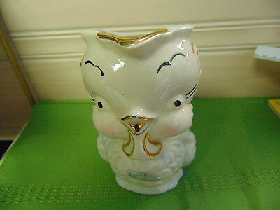 American Bisque Chick Chicken Pitcher with Original Tag