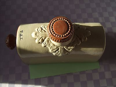 Vintage Stoneware? Bed Warmer - Hot Water Bottle - T.A.L.