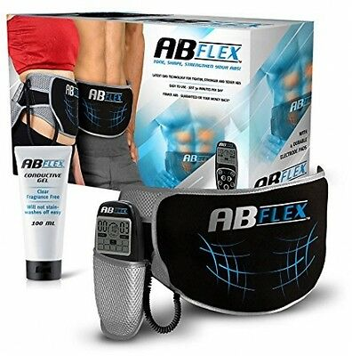 Ab Flex Ab Toning Belt For Slender Toned Stomach Muscles - No Replacement Pads