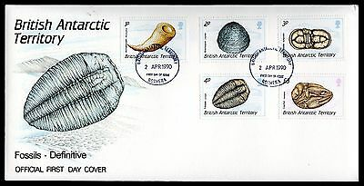 BAT 1990 Fossils Issues of 3 FDCs - Set of 15