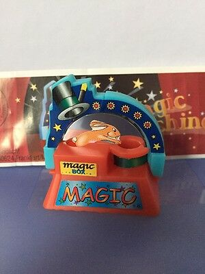 Ü-Ei Figur Magic Machine 2003 Hase Im Hut Maschine Zauberer + BPZ