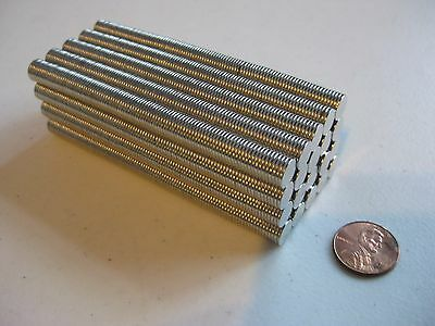 8mm x 1mm Neodymium Disc Magnets N50, New, Super Strong! -50, 100, or 200 pcs-