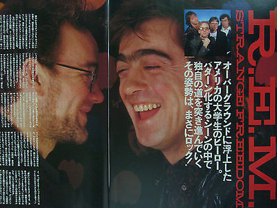 R.e.m. - Clippings From Japanese Magazines