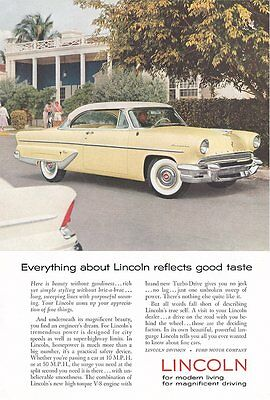 1955 Lincoln - 8X10 Reproduction Photo