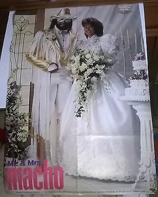 Wwf / Wwe,  Wrestling: Double Sided Poster,  Mr And Mrs Macho