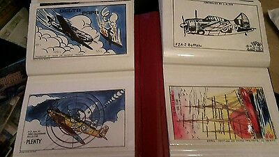 Postcard Album & 120 Postcards. Lovely Selection. Better Quality Cards