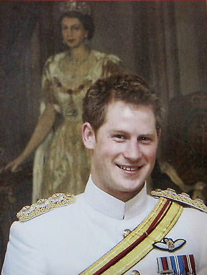 Prince Harry in The Bahamas Post Card