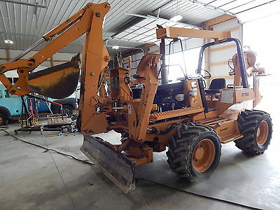 1999 Case Rt960 Trencher Cable Plow