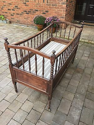 French Antique Baby Cot