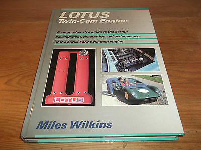Book Lotus Twin-Cam Engine Guide to Design & Restoration Lotus-Ford Osprey 1989
