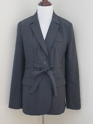 Mint A PEA IN THE POD Maternity Gray Charcoal Career Blazer Suit Jacket Sz S