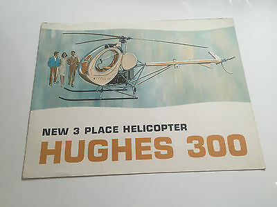 Hughes 300 Helicopter Manufacturers Sales Brochure
