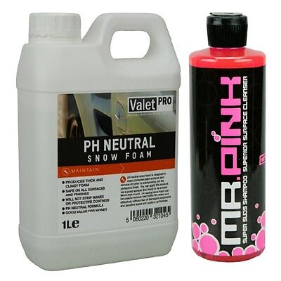 ValetPRO neutral 1 Liter und CG Mr. Pink 473 ml im Set