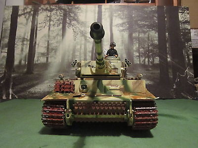 German  Tiger 318 By Heng Long 1/16 Scale R-T-R Boxed