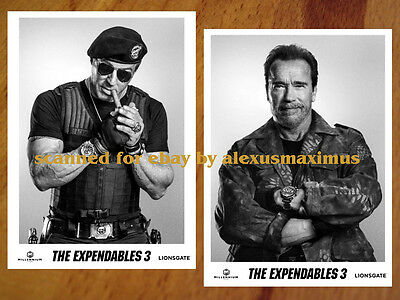 THE EXPENDABLES 3 rare Press Kit + 40 B&W PHOTO Set SYLVESTER STALLONE Lundgren