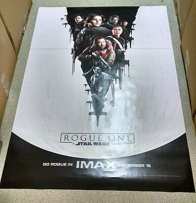 Rogue One 4ft x 6ft d/s IMAX Bus Shelter Poster