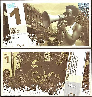 Brixton / London : 1st series £1 Banknote, now the rarest Brixton note there is
