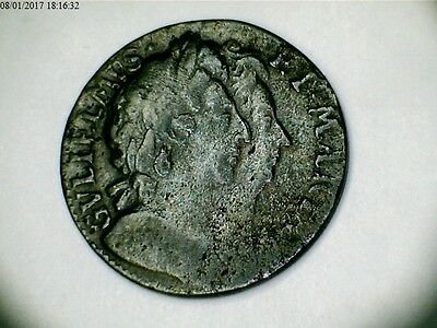 1694 William and Mary Farthing