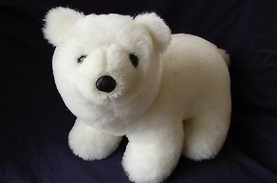 Plush White Polar Bear