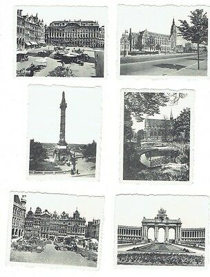 Brussels photos: early to mid 20th century FREE shipping