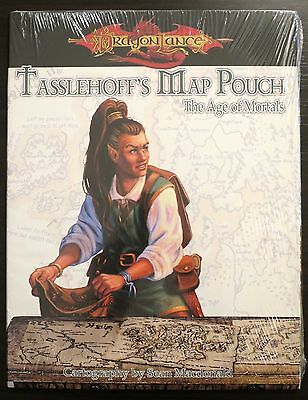 Tasselhoff's Map Pouch Age of Mortals SEALED NEW - D&D 3.5 - Dragonlance