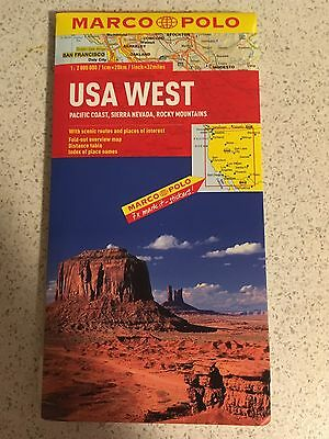 Usa West Map
