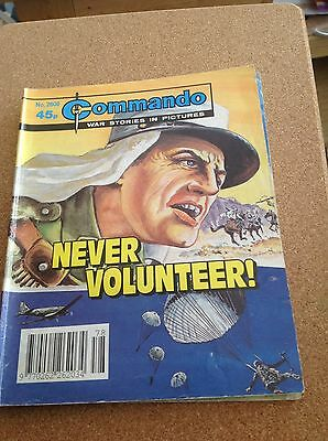 "Commando War Comic ""never Volunteer"" No 2608"