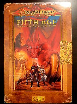 "Dragonlance Fifth Age NEW SEALED - ""Fate Deck"" included inside box set"