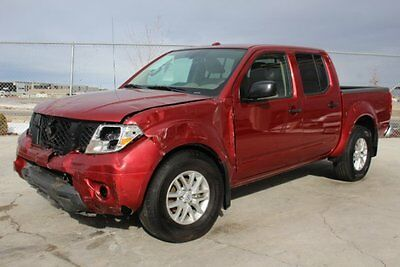 2016 Nissan Frontier SV 2016 Nissan Frontier SV Crew Cab 4WD Damaged Salvage Only 5K Miles Loaded L@@K!