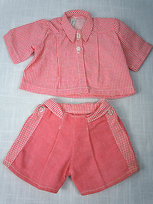 Terri Lee Tagged Play Suit Outfit Doll Clothes Vintage 1950s