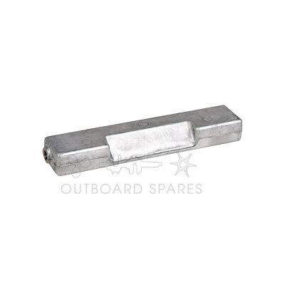 Evinrude Johnson Aluminium Bar Anode for 60hp to 300hp Outboard (Part # 433580)