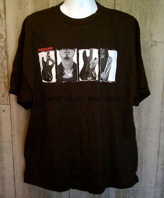 "AUDIOSLAVE  T-Shirt  ""Exile"" Official/Licensed   Front & Back  Size:2XL  NEW"