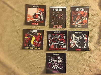 KMFDM Stickers Free Shipping!