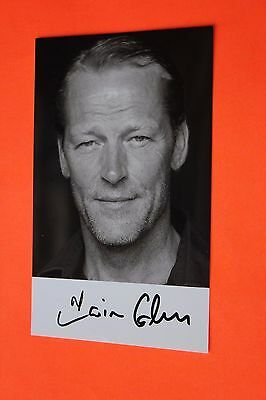 Iain Glen (Game of Thrones - Ser Jorah Mormont) Signed Photo