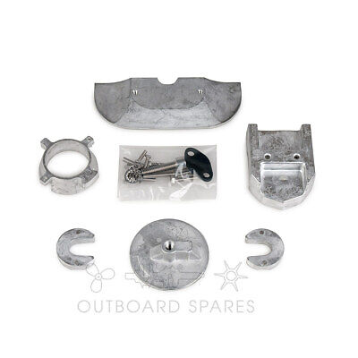 Mercury MerCruiser Alum Anode Kit for Alpha 1 Gen 2 Sterndrive (Part# 888756Q03)