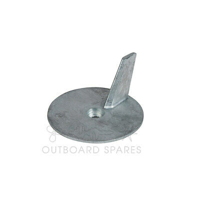 A New Yamaha Alum Trim Tab Anode for 25, 30, 40, 50hp Outboard (# 664-45371-01)