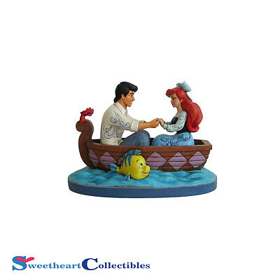 Jim Shore Disney Traditions Ariel and Prince Eric 4055414 New 2016