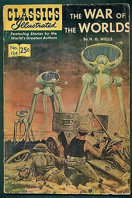 1968 The War of the Worlds by H.G. Wells Classics Illustrated Comic