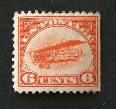 RICHNVIC01 ******** SCOTT #C1  6c CURTISS JENNY AIRPLANE,  MNH,  CV$120