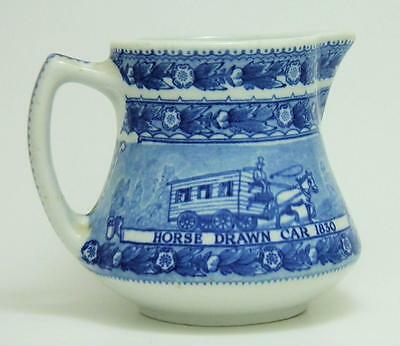 "Shenango Railroad China Baltimore & Ohio (B&O) 4"" Tall Pitcher"