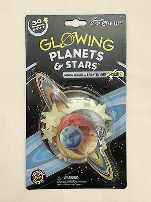 NEW Great Explorations Glow in the Dark Planets & Stars