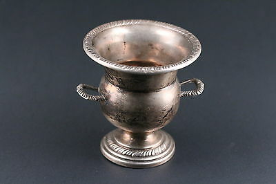 Sterling Silver Miniature Vase By Fina
